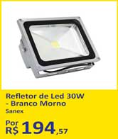 Refletor de Led 30W - Branco Morno da Sanex