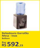 Bebedouro Garrafão Mesa - Inox da Belliere