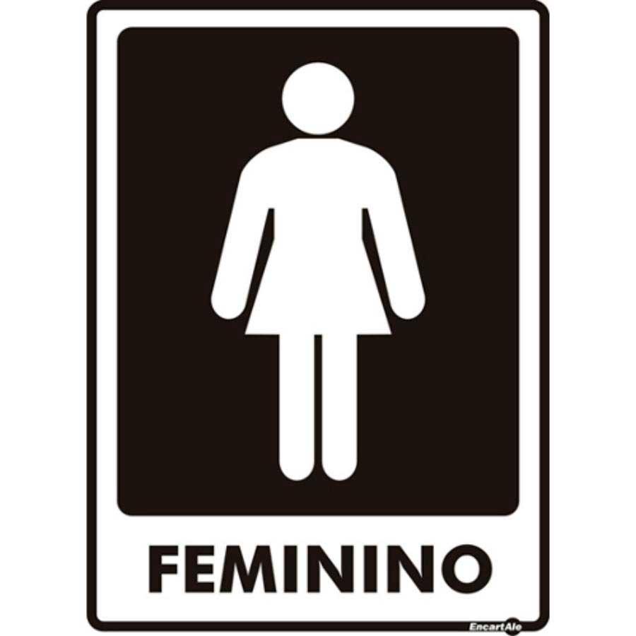 Imagem Placa Banheiro Feminino : Placa banheiro feminino ps encartale liga??o