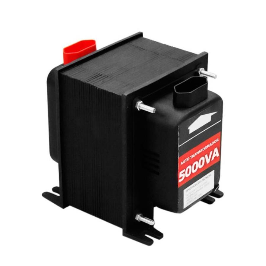 Auto transformador de voltagem 5000va 3500w kitec - Transformador 220 a 110 ...