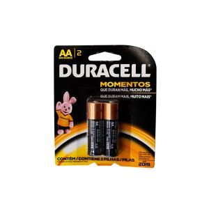 Pilha Alcalina Pequena AA - 2 Pc - Duracell