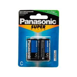 Pilha Comum Media C - 2 Pc - Panasonic