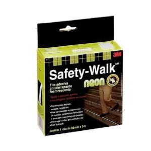Fita Antiderrapante Safety-Walk Neon 5 Metros - 3M