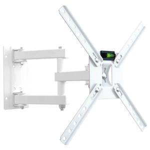 """Suporte Articulado para TV LED/ Smart TV e 3D de 10"""" a 55"""" SBRP140B Branco - Brasforma"""