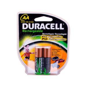 Pilha Pequena Recarregável AA - 2 Pc - Duracell