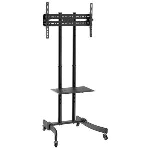 """Suporte Rack Pedestal para TV de 37"""" a 70"""" SBRP0.5 Preto - Brasforma"""