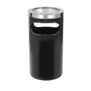 Cinzeiro Lixeira C5 Texturizado - Preto - JSN