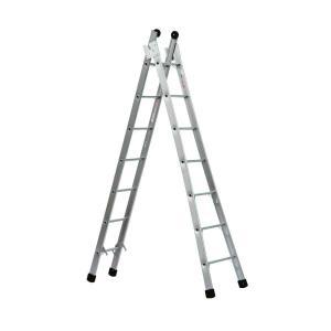 Escada Extensível 14 Degraus - 4,5x7,8 - Allfort