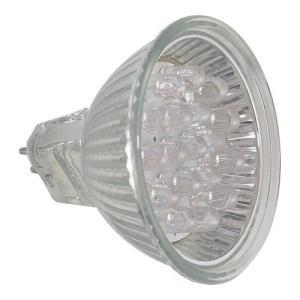 Lâmpada de Led Dicróica 1W 20L Amarela Bipino - Sanex