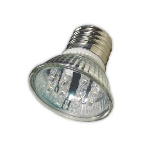 Lâmpada Led Dicroica 1W 20L Verde E27 - Sanex