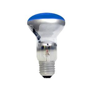 Lâmpada Spot Refletora Espelhada R63 40W 127V Azul - Sanex