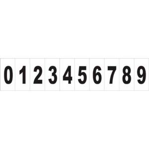 Placa Número 0-9 - 6x3 PS142 - Encartale