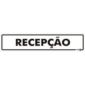 Placa Recepção 6,5x30 PS52 - Encartale