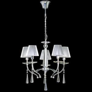 Lustre de Cristal 6124/5 - UNIK Iluminação