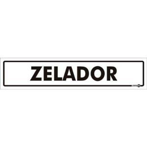 Placa Zelador 6,5x30 PS424 - Encartale