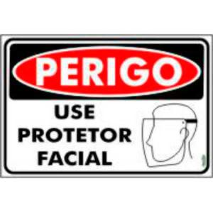 Placa Use Protetor Facial 20x30 PR5032 - Encartale