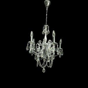 Lustre de Cristal 6095/5 - UNIK Iluminação