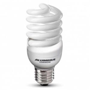 Lâmpada Eletrônica Espiral  20W Branca - Alumbra