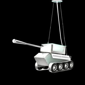 Pendente M761 Tanque de Guerra - UNIK Iluminação
