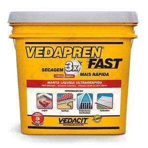 Vedapren Fast Branco  5Kg - Vedacit