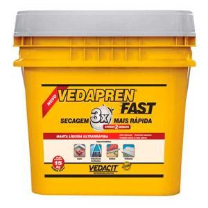 Vedapren Fast Branco 15Kg - Vedacit