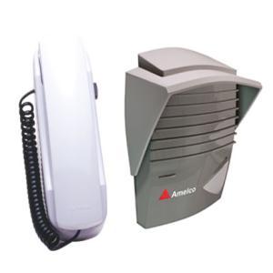 Porteiro Eletrônico Residencial AM-M200 Grafite e Prata - Amelco