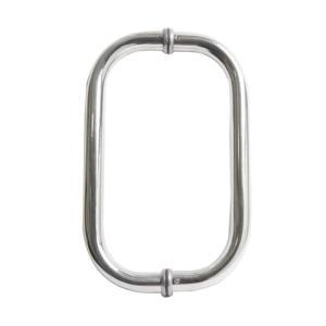Puxador para Porta Duplo 30cm em Inox 180 - Ligação