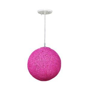 Pendente Art Line 03/1 20cm Rosa Pink - Condulai