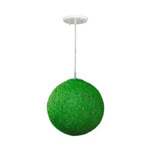 Pendente Art Line 03/1 20cm Verde - Condulai