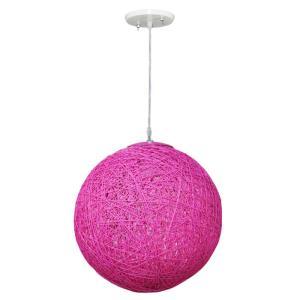 Pendente Art Line 04/1 28cm Rosa Pink - Condulai