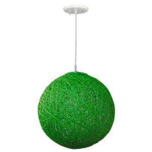 Pendente Art Line 04/1 28cm Verde - Condulai