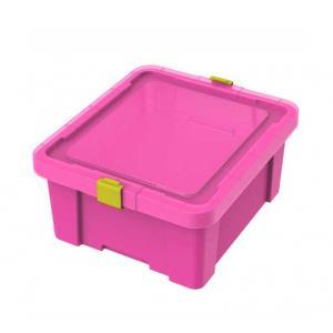 Caixa Organizadora Kids 17 Litros Rosa 92550/060 - Tramontina