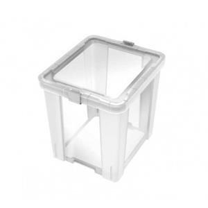 Caixa Organizadora Office 42 Litros Transparente 92552/011 - Tramontina