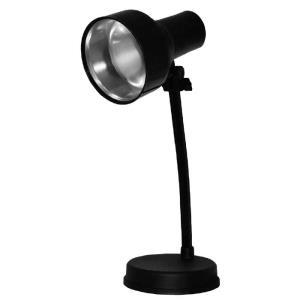 Luminária de Mesa com Cúpula Anti-Térmica 201 Preta - Ilutec