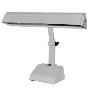 Luminária de Mesa Articulada para 2 Lâmpadas 270 Branca - Ilutec