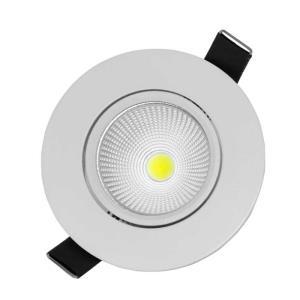 Spot de Embutir Direcionável de Led 3W Redondo Branco Frio - UNIK Iluminação