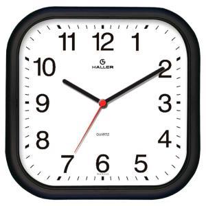 Relógio de Parede Epcot 5501/02 Preto e Branco - Haller