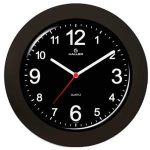 Relógio de Parede Saturno 5387/02 29cm Preto - Haller