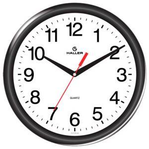 Relógio de Parede D30 5349/02 3D 30cm Preto - Haller