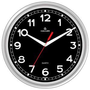 Relógio de Parede D30 New York 5396/05 30cm Prata - Haller