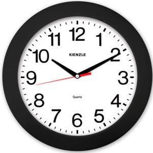 Relógio de Parede Constellation 5374/02 37cm Preto e Branco - Kienzle