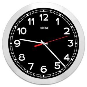 Relógio de Parede Futura New York 6057/33 30cm Preto - Kienzle