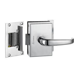 Fechadura Elétrica para Porta de Vidro Externa Cromada FV33ECRA - Amelco