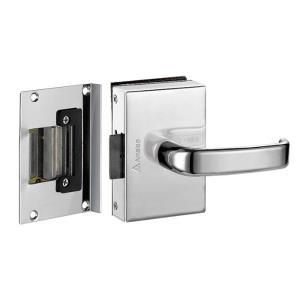 Fechadura Elétrica para Porta de Vidro Interna Cromada FV33ICRA - Amelco