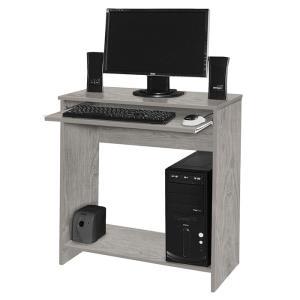 Mesa para Computador China Carvalho Bianco com Preto - Móveis Primus