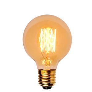 Lâmpada de Filamento de Carbono G80 40W - OL Iluminação