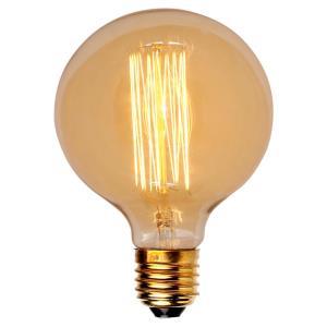 Lâmpada de Filamento de Carbono G125 40W - OL Iluminação