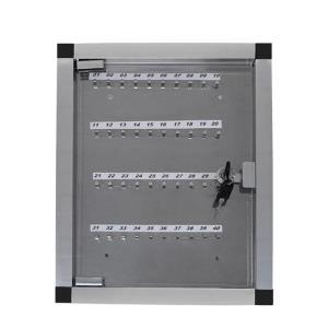 Quadro de Chaves em Alumínio para 40 Chaves - Ligação