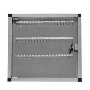 Quadro de Chaves em Alumínio para 60 Chaves - Ligação