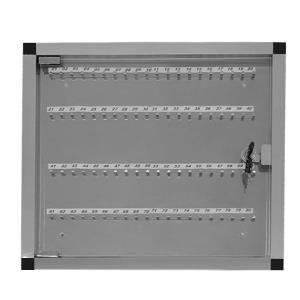 Quadro de Chaves em Alumínio para 80 Chaves - Ligação